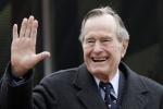 Cố Tổng thống Bush đối phó với bệnh tật như thế nào?