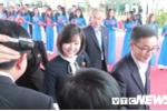 Nhung hinh anh moi nhat phai doan Trieu Tien len tau 5 sao tham quan vinh Ha Long hinh anh 12
