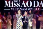 Bùi Quỳnh Hoa đăng quang 'Miss Áo dài Việt Nam World 2017'