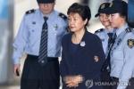 Video: Cựu Tổng thống Hàn Quốc bị còng tay ra hầu tòa
