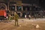 Clip: Hiện trường tan hoang sau vụ nổ lớn, rung chuyển cả phố ở Nghệ An