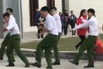 Nhóm nam sinh cảnh sát nhảy điêu luyện trên nền nhạc sôi động gây 'bão' mạng