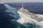 Video: Khả năng tác chiến đáng gờm của siêu tàu sân bay Mỹ vừa đến Việt Nam