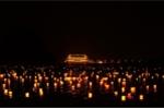 Video: Hoa đăng rực sáng trên mặt hồ rộng 1.000 ha tại chùa Tam Chúc