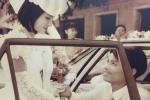 Rộ trào lưu khoe ảnh cưới ngày xưa của bố mẹ 'gây bão' mạng xã hội