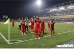 Buổi tập đầu tiên của tuyển Việt Nam trên đất Malaysia trước trận chung kết AFF cup 2018