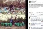 Giới trẻ khắp thế giới thích thú với 'thử thách dọn rác'