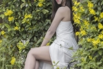 Hot girl Thanh Hoa mong manh, quyen ru trong bo anh moi hinh anh 2