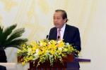 Phó Thủ tướng: 'Chậm xử lý một số vụ việc hình sự, để tội phạm bỏ trốn'