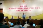 Kỳ họp thứ 5 Quốc hội khóa 14: Mỗi đại biểu QH được nêu câu hỏi chất vấn trong vòng 1 phút