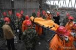 Ảnh: Hiện trường vụ sập giàn giáo thảm khốc khiến 74 người thiệt mạng ở Trung Quốc