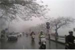 Không khí lạnh tràn về gây mưa to khắp các tỉnh miền Bắc
