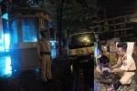 Chuyện cảm động của chiến sỹ CSGT Hà Nội trong cơn bão số 3