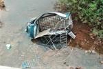 Xe tải chở lợn lao xuống sông, 2 người bị thương ở Quảng Ninh
