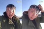 Clip: Tóc người đóng băng giữa trời lạnh giá ở Trung Quốc