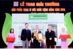 Herbalife Việt Nam nhận giải thưởng 'Sản phẩm vàng vì sức khỏe cộng đồng năm 2018'