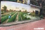 Ảnh: Khu tập thể cũ ở Hà Nội 'lột xác' sống động nhờ tranh 3D