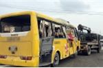 Lật xe chở khách về quê ăn Tết, 16 người thương vong: Thứ trưởng GTVT đến hiện trường