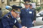 Bị lập biên bản xử phạt, người đàn ông mang dao chém thanh tra giao thông