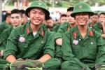 Trúng tuyển trường quân đội, xác nhận nguyện vọng học vào thời gian nào?