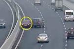Phạt 7,5 triệu đồng nữ tài xế phóng xe ngược chiều trên cao tốc Hà Nội - Hải Phòng