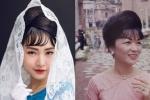 'Nàng thơ xứ Huế' Ngọc Trân chịu lạnh, diện áo dài hóa thân thành Madam Nhu