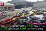 Clip: Cảnh tang thương quá sức chịu đựng của thảm họa kép ở Indonesia