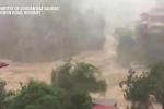 Clip: Lũ dữ như tận thế ở Philippines khi siêu bão MANGKHUT đổ bộ