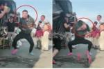 Clip: Thanh niên nhảy dẻo như tháo khớp khiến người xem hú hồn bỏ chạy