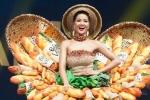 Váy 'Bánh Mì' gây tranh cãi của H'Hen Niê vào top 10 Trang phục dân tộc đẹp nhất