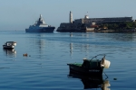 Video: Tàu chiến Nga cập cảng Cuba, Mỹ theo dõi 'nhất cử nhất động'