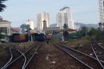 Hai tàu hỏa suýt đâm nhau tại ga Nha Trang