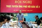 Bão số 2 đổ bộ đất liền: 24 tỉnh thành họp khẩn