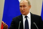 Tổng thống Putin: Lệnh trừng phạt của Mỹ sẽ phản tác dụng và vô nghĩa với Nga