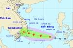 Hôm nay, áp tháp nhiệt đới có thể mạnh lên thành bão số 1 trên Biển Đông