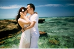 Ảnh cưới lãng mạn chụp tại đảo Lý Sơn của chàng cảnh sát trẻ Hà Tĩnh