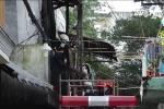 Cháy nhà ở Sài Gòn, chồng lao vào 'biển lửa' nhưng không thể cứu vợ con