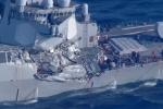 Thuyền trưởng tàu Philippines tiết lộ lý do đâm thủng chiến hạm Mỹ