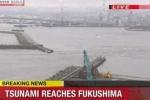 Động đất khủng khiếp ở Nhật Bản, sóng thần ập vào bờ biển