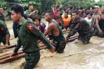 Video, Anh: Vo dap o Myanmar, hon 100 ngoi lang chim trong bien nuoc hinh anh 3