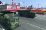 Tên lửa bí ẩn xuất hiện trong lễ diễu binh của Triều Tiên