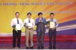 Trao giải thưởng Tiếng nói Việt Nam nhân kỷ niệm 72 năm ngày thành lập VOV