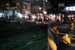 Xe tải cố tình lao qua đường ray, nữ nhân viên gác chắn tàu nhập viện