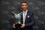 Ronaldo nhận danh hiệu cầu thủ xuất sắc nhất châu Âu
