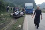 Tai nạn xe con đâm xe tải ở Sơn La: Danh tính 4 nạn nhân thiệt mạng