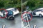 Clip: Nữ tài xế mở cửa ô tô kiểu 'giết người', gây họa cho xe máy