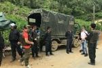 Không khí ngột ngạt, căng thẳng, cảnh sát thắt chặt an ninh tứ phía vào bản truy bắt trùm ma túy ở Lóng Luông