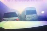 Clip: Khoảnh khắc khói bụi mù mịt khiến ô tô tông nhau trên cao tốc TP.HCM - Long Thành - Dầu Giây