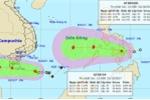 Chiều nay, bão theo áp thấp nhiệt đới vào Biển Đông