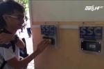 TP.HCM: Trường THCS đầu tiên điểm danh học sinh bằng quẹt thẻ